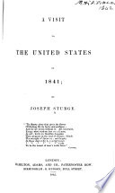 A Visit to the United States in 1841 Pdf/ePub eBook