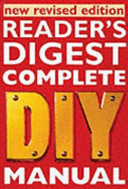 Reader S Digest Complete Diy Manual