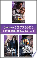 Harlequin Intrigue October 2020 Box Set 1 Of 2