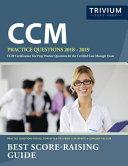 CCM Practice Questions 2018 2019