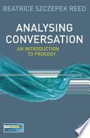 Analysing Conversation