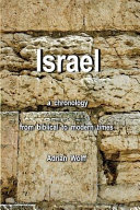 Israel, a Chronology