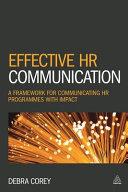 Effective HR Communication