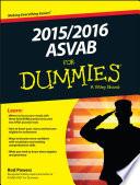 2015   2016 ASVAB For Dummies