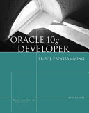 Oracle 10g Developer