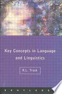 Key Concepts in Language and Linguistics