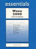Word 2000 Essentials Intermediate