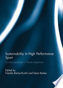 Sustainability In High Performance Sport book