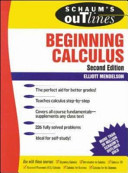 Schaum s Outline of Theory and Problems of Beginning Calculus