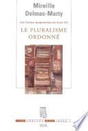 Le Pluralisme Ordonn Les Forces Imaginantes Du Droit 2