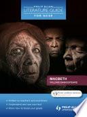 Philip Allan Literature Guide  for GCSE   Macbeth