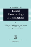 Handbook of Dental Pharmacology and Therapeutics