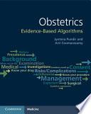 Obstetrics Evidence Based Algorithms