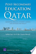Post Secondary Education in Qatar