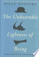 The Unbearable Lightness of Being Book PDF