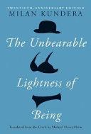 The Unbearable Lightness Of Being Pdf/ePub eBook