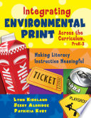 Integrating Environmental Print Across the Curriculum  PreK 3
