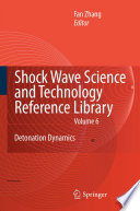 Shock Waves Science And Technology Library, Vol. 6 : and technology reference library, is primarily...