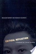 Ebook Critical Reflection Epub Malcolm Murray,Nebojsa Kujundzic Apps Read Mobile
