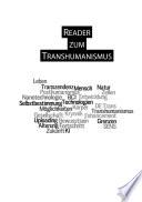 Reader zum Transhumanismus