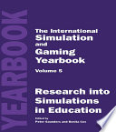 International Simulation and Gaming Yearbook