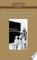 History Of The Thrift Movement In America