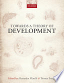 Towards a Theory of Development