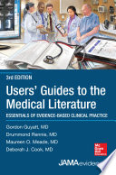 Users  Guides to the Medical Literature  Essentials of Evidence Based Clinical Practice 3e