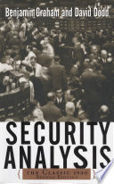 Security Analysis  The Classic 1940 Edition