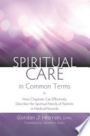 Spiritual Care in Common Terms