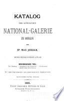 Katalog der Königlichen National-galerie zu Berlin