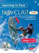 Learning to Pass the New Clait 2006