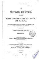 The Australia directory  Vol 1  5th 10th ed   With