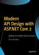 Modern Api Design With Asp Net Core 2