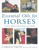 Essential Oils for Horses