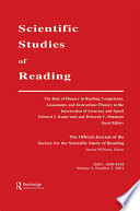 The Role of Fluency in Reading Competence  Assessment  and Instruction