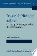 Friedrich Nicolais Satiren