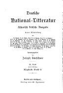 Deutsche National Litteratur