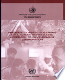 Frequently Asked Questions On A Human Rights Based Approach To Development Cooperation