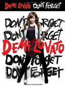 Demi Lovato Don T Forget book
