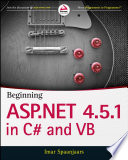 Beginning ASP NET 4 5 1  in C  and VB