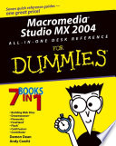 Macromedia Studio MX 2004 All in One Desk Reference For Dummies