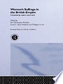 Women s Suffrage in the British Empire