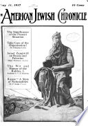 The American Jewish Chronicle Vol 3 No 1 26