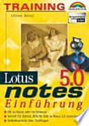 Training Lotus Notes 5.0