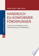 Handbuch EU-konformer Förderungen