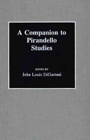 A Companion to Pirandello Studies