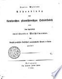 Xavier Wulfens Abhandlung Vom kärnthenschen pfauenschweifigen Helmintholith oder dem sogenannten opalisirenden Muschelmarmor. Der königlich preussischen Gesellschaft naturforschender Freunde in Berlin gewidmet