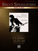 Bruce Springsteen  Born to Run  Alfred s Classic Album Editions