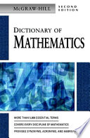 Mcgraw Hill Dictionary Of Mathematics 2 E